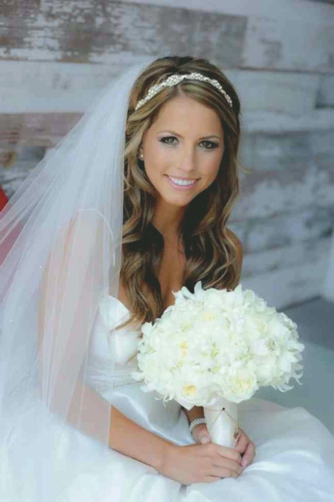 terribly cool bridal hairstyles open medium length ideas-Awesome Bridal Hairstyles Open Mid-Length Gallery