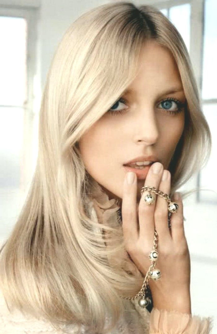 beautiful hair-colored blond gray photo-luxury hair colors blond gray model