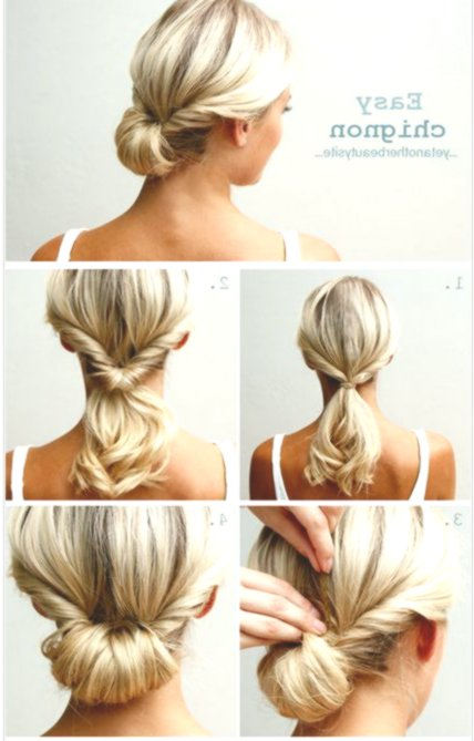 Amazingly awesome simple updos make yourself gallery-Stunningly simple updos by yourself decor