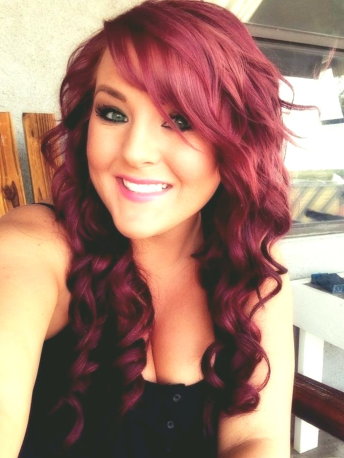 elegant hair red-brown photo picture-modern hair red-brown photography