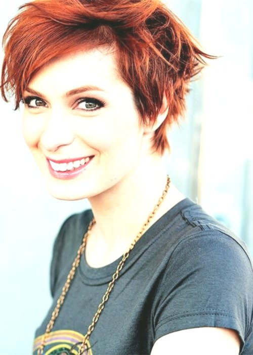 18 Short Red Haircuts Short Hair For Summer And Winter