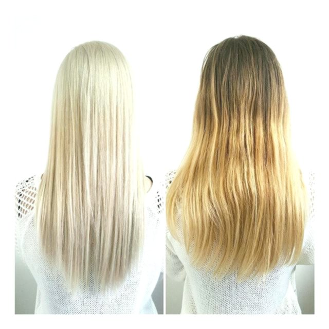 incredibly dyed hair blond plan-terrific dyed hair blonding wall