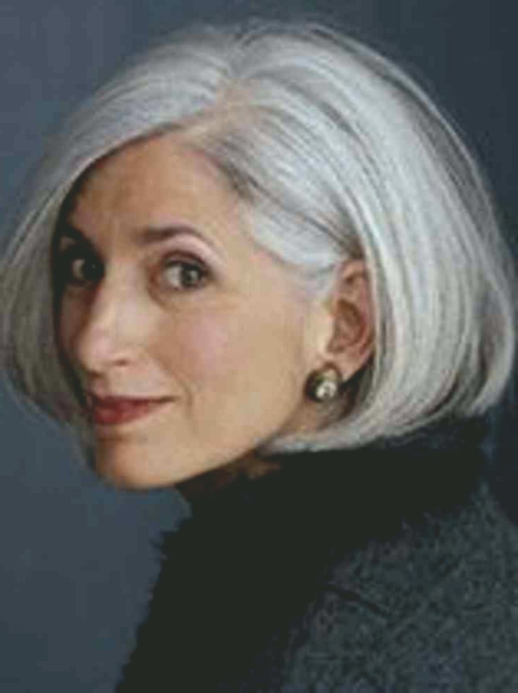 Stylish Hairstyles For Gray Hair Design Stylish Hairstyles For Gray Hair Collection