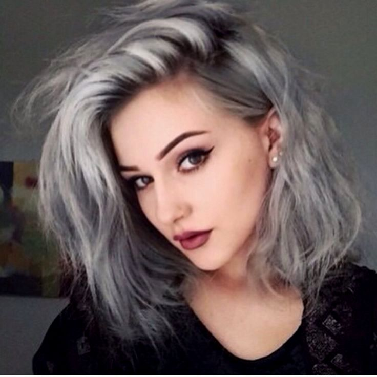 lovely hair color gray blonde picture Sensational Hair Color Gray Blond Decoration