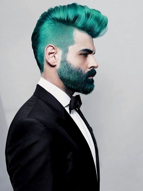 fancy hair blue dye concept - Beautiful hair blue dyeing collection