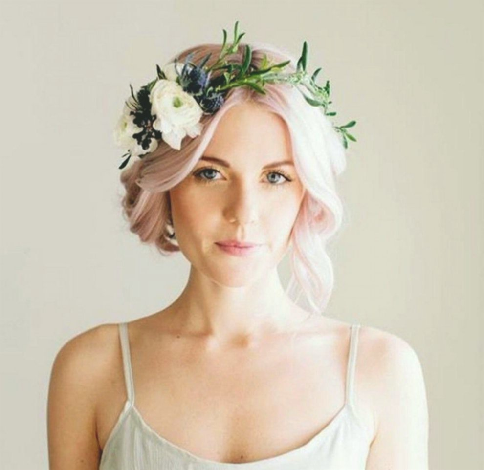 new wedding hairstyles with flowers foto-Fantastic wedding hairstyles With flowers decoration