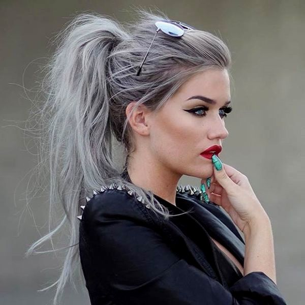 hairstyles gray hair decoration-Finest hairstyles Gray hair image