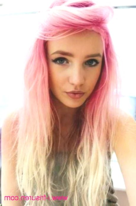 fascinating pastel pink hair ombre photo picture-Stylish pastel pink hair ombre photo