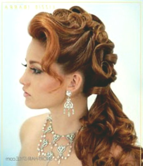 modern hairstyles for wedding guests photo picture-Cute hairstyles for wedding guests model