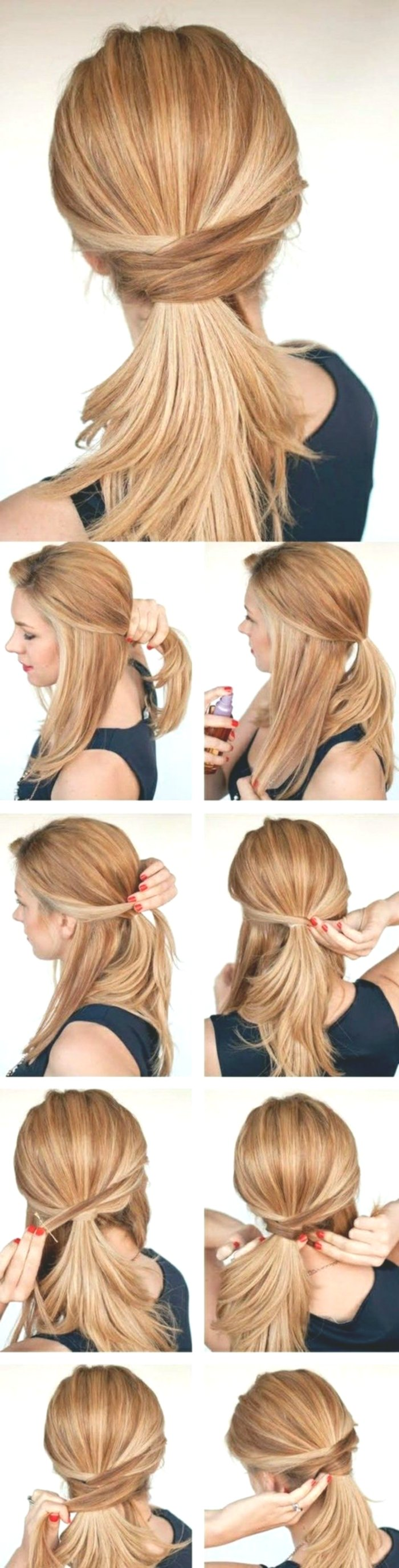Excellent Hairstyles Make Long Hair Yourself-Plan Wonderful Hairstyles Long Hair Do It Yourself Models