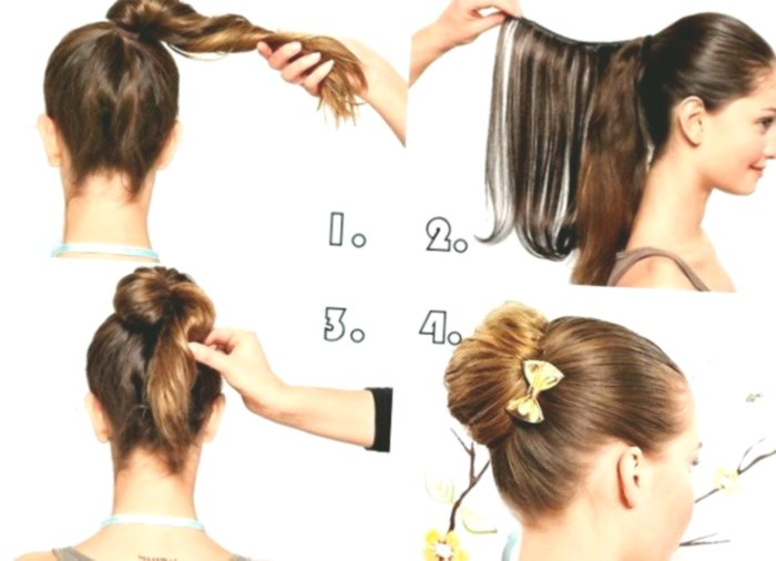 beautiful simple hairstyles make yourself photo picture modern Simple hairstyles self make design