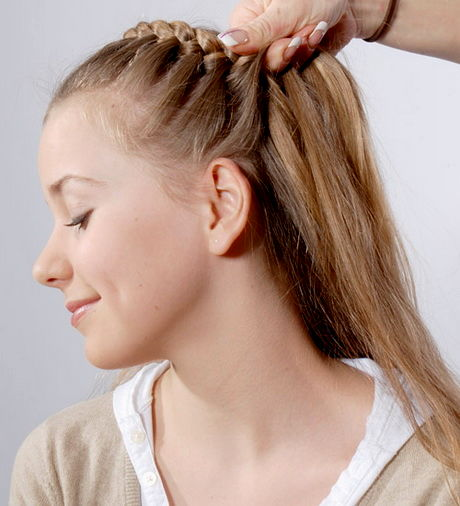 upwards braided hairstyle instructions with pictures portrait-Modern braided hairstyles Instructions With pictures Design