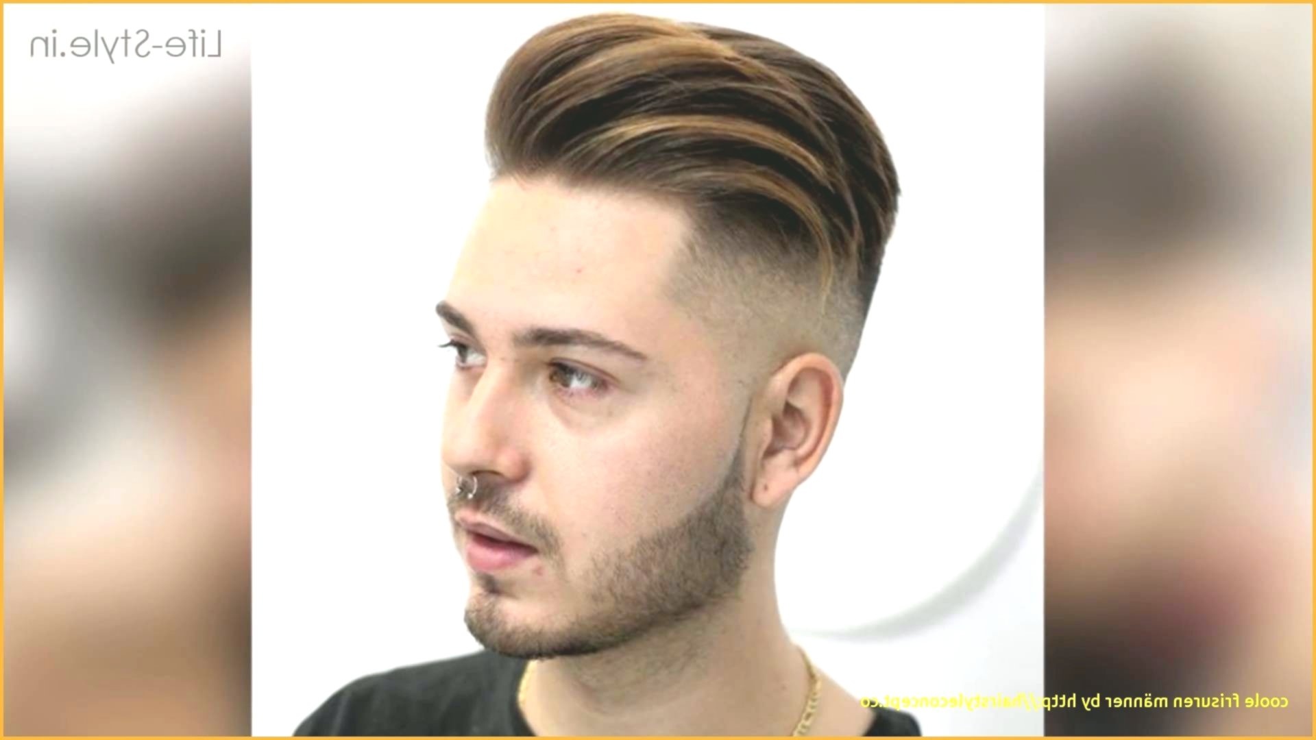 Elegant Cool Hair Model - Beautiful Cool Hair Layout