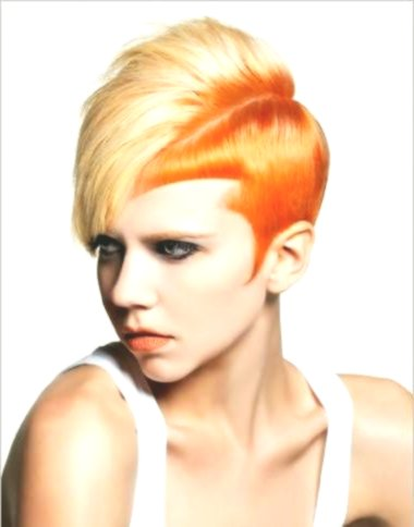 stylish gentle hair color image-New Gentle hair color design