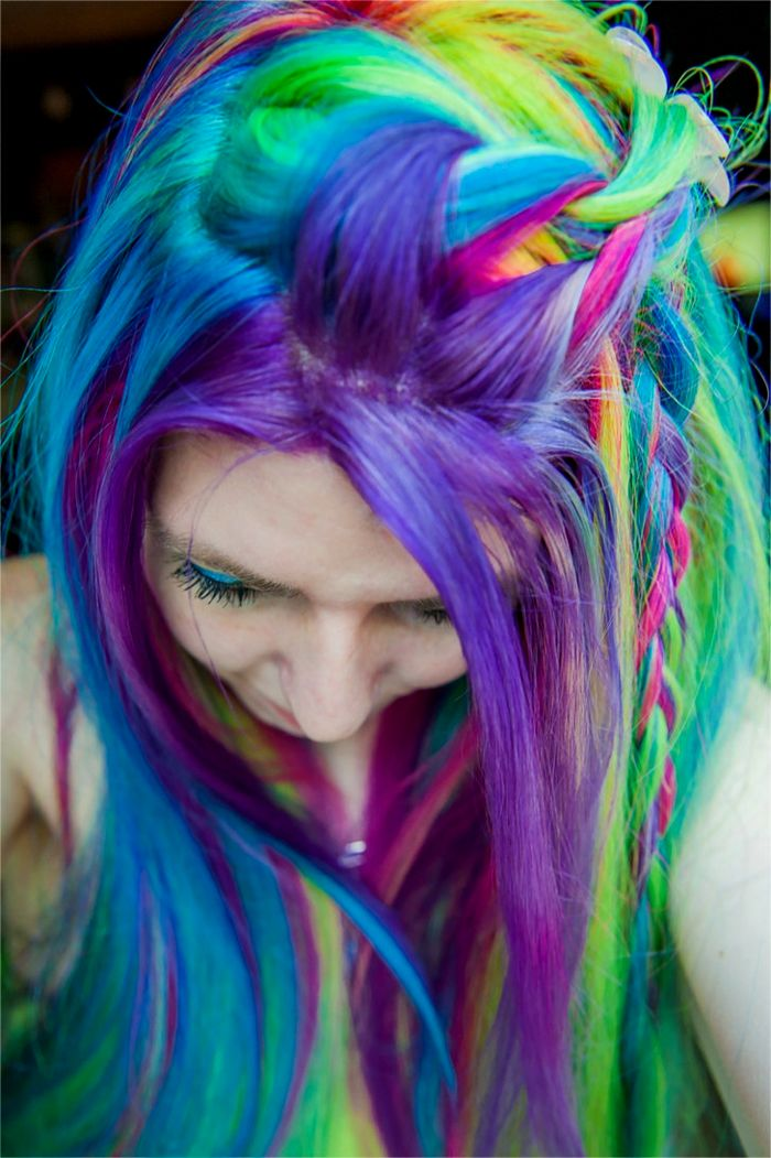 top colorful hair short photo picture modern colorful hair short photo