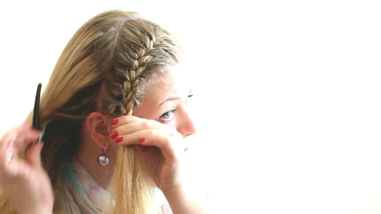 unique braided hairstyles simple model-Breathtaking braided hairstyles Simple photo