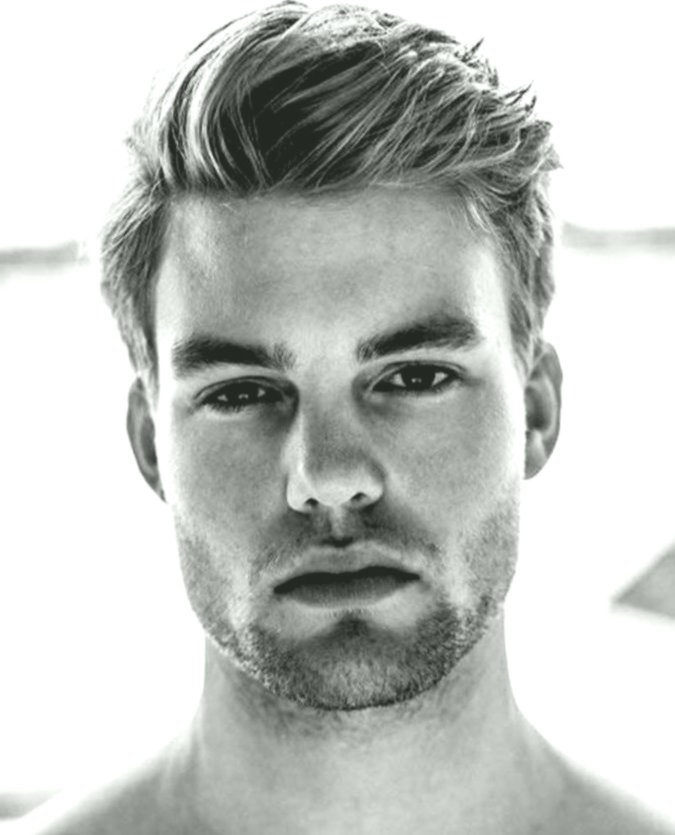 lovely stylish men's hairstyles gallery-Modern Stylish men's hairstyle photography