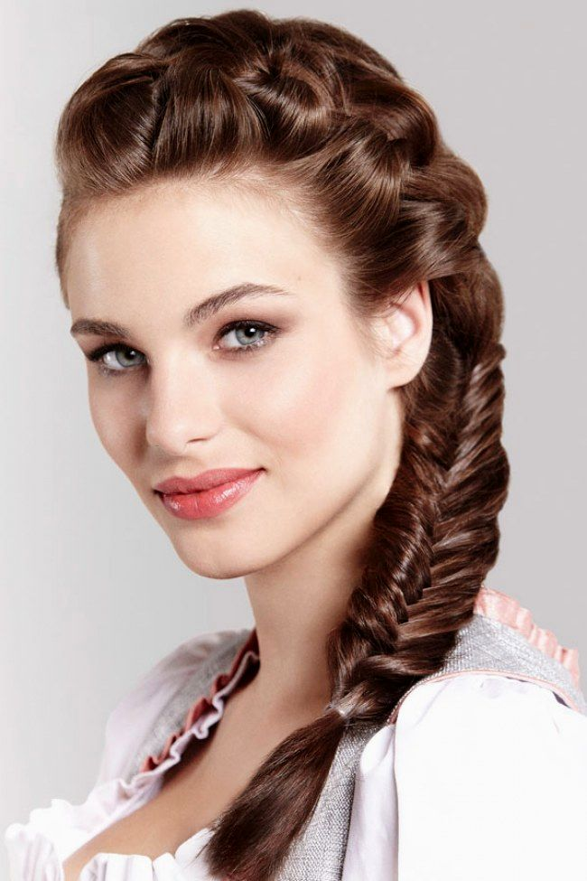 elegant braided hairstyles with dutt portrait Cool Wicker Hairstyles With Dutt Architecture