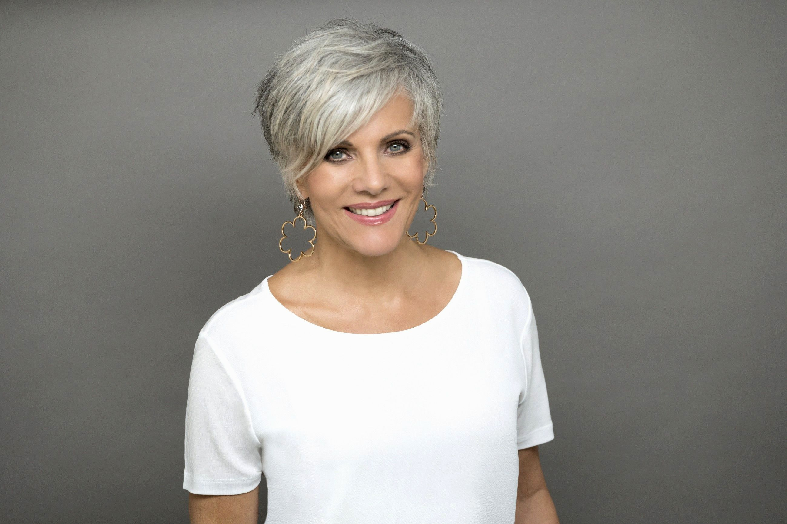 Inspirational Hairstyles Gray Hair Model-Finest Hairstyles Gray Hair Image