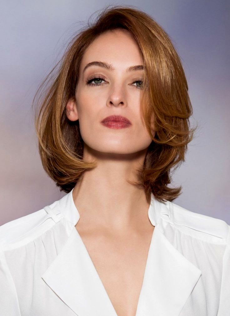 Beautiful hair shoulder-length pattern-top hair shoulder-length layout