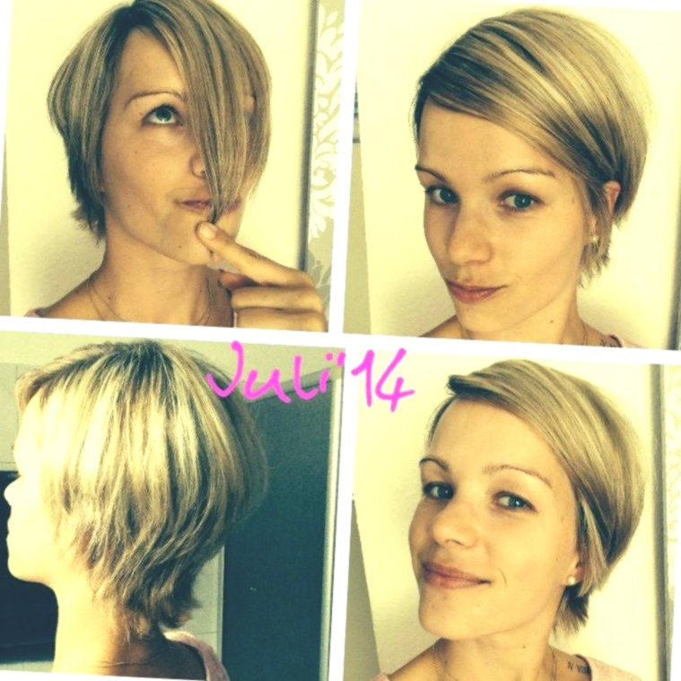new hair self-cut bob portrait-modern hair self-cutting bob photo