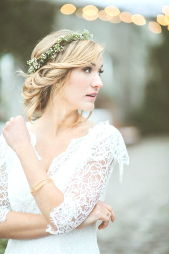 Lovely Bride Hair Inspiration - Sensational Bride Hair Layout