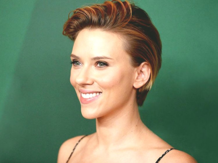 top scarlett johansson short hair architecture-unique Scarlett Johansson Short Hair Gallery