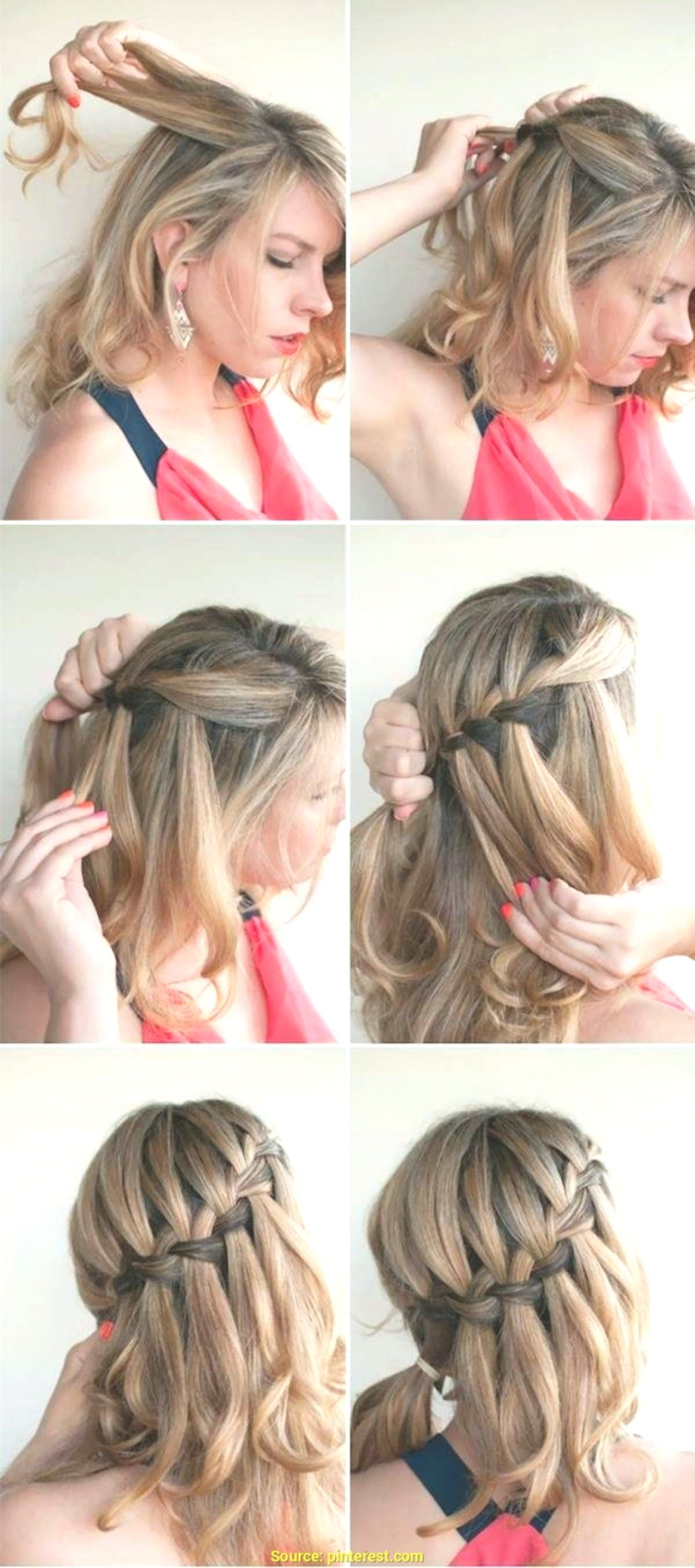 stylish half-open braided hairstyles photo image-fascinating Semi-open braided hairstyles concepts