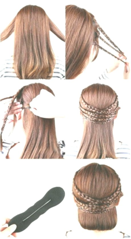 lovely hair braiding concept-Modern hair self braiding models