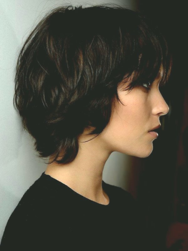 Sensational cute curls short hairstyle decoration-Fascinating curls short hairstyle layout