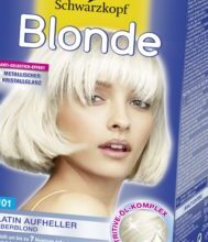 Photo of New hair color silver blonde photo
