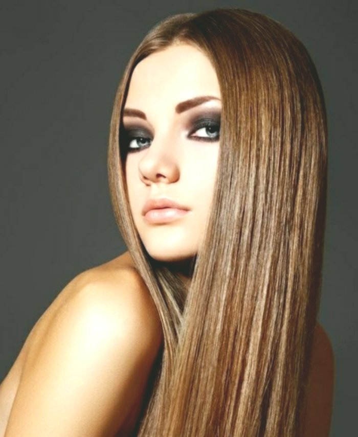 Fantastic Hair Proper Smooth Background-Cute Hair Correct Smoothing Model