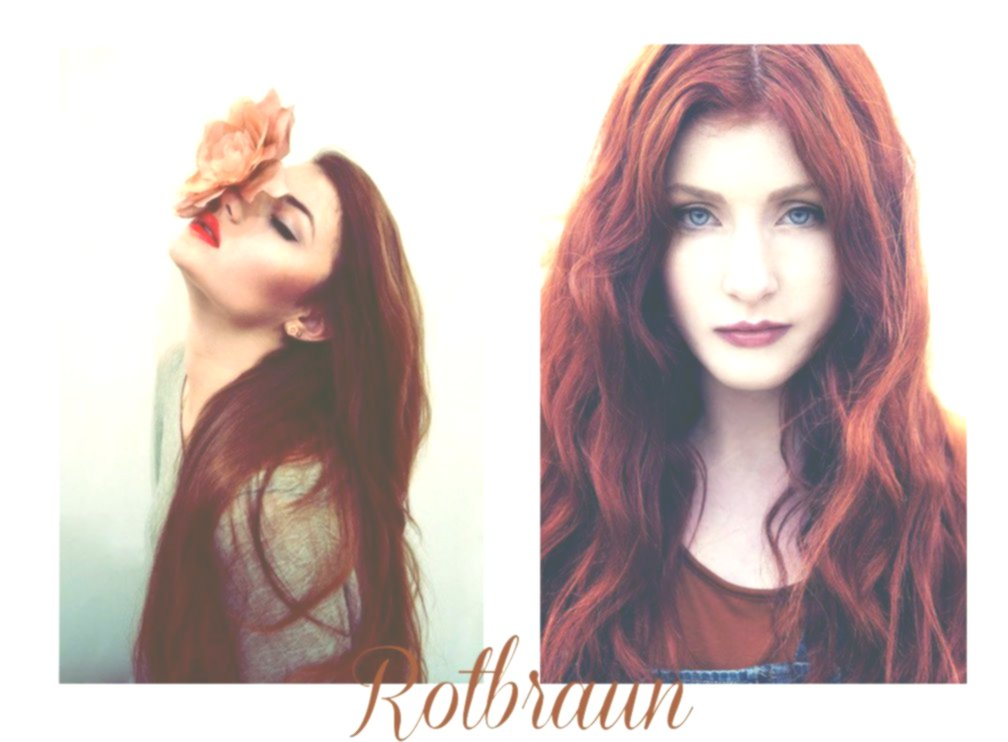 Excellent brown red hair inspiration-Modern Brown red hair decoration