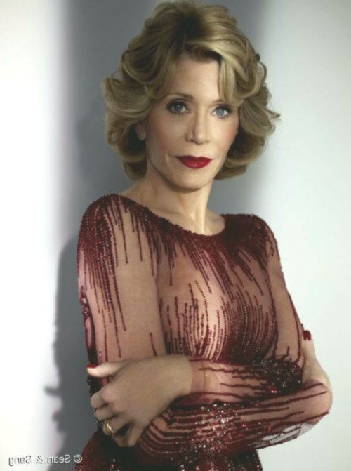 fresh jane fonda hairstyle image-luxury Jane Fonda hairstyle design