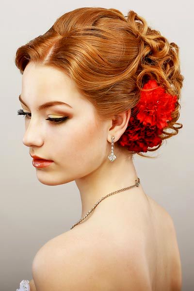 finest updos with curls background-modern updos with curls portrait