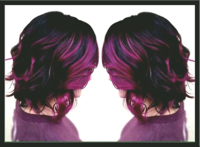 contemporary violet hair model-Excellent violet hair photo