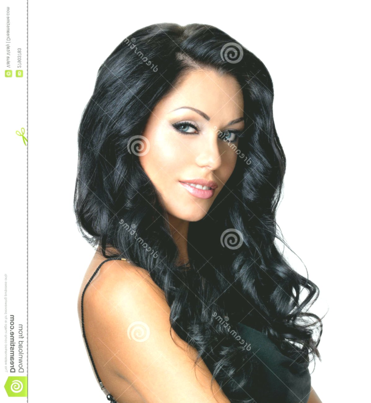 lovely black long hair online Amazing Black Long Hair Wall