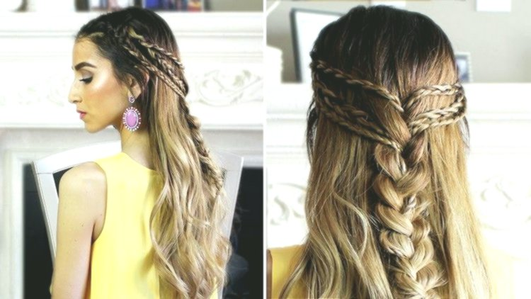 Fancy Updos Long Hair Guide Concept Stylish Updos Long Hair Instructions Image