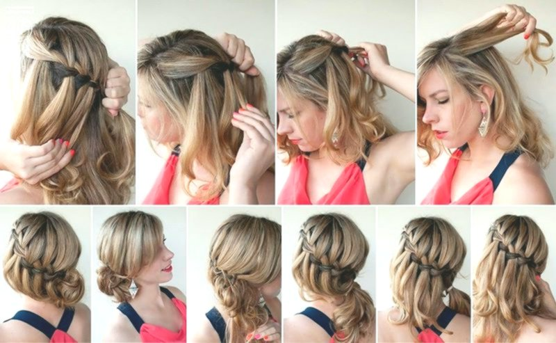 contemporary simple hairstyles to make yourself decoration Beautiful Simple Hairstyles To Do Concepts