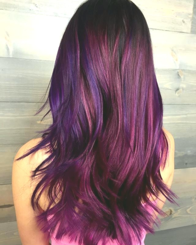 contemporary violet hair photo-Excellent violet hair photo