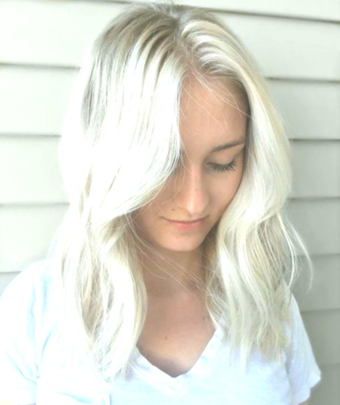 amazing awesome hair color silver blonde portrait-new hair color silver blonde photo
