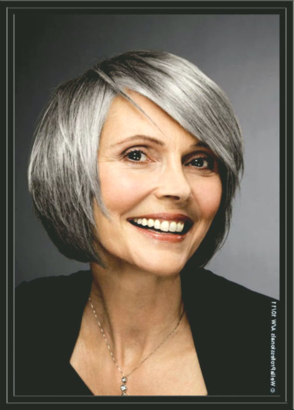 lovely short hairstyles for gray hair concept-modern short hairstyles for gray hair layout