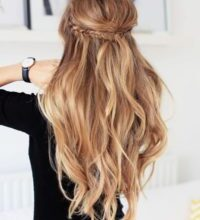 Photo of Nice hairstyles Semi-open picture