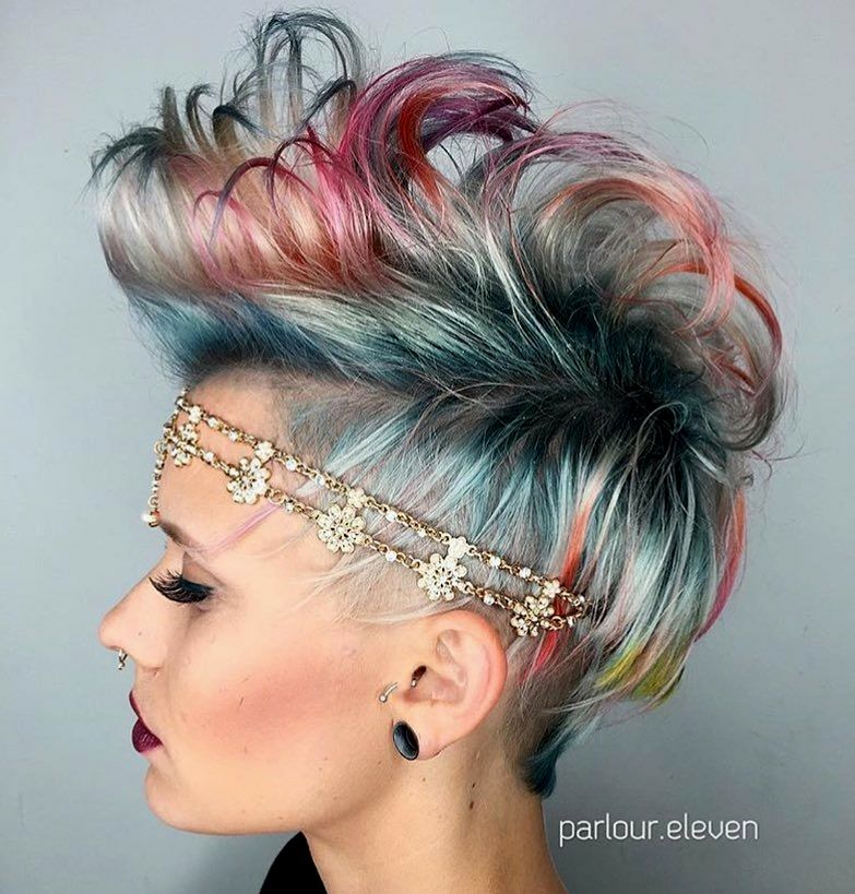 fancy hair blue dyeing design Beautiful hair blue dyeing collection