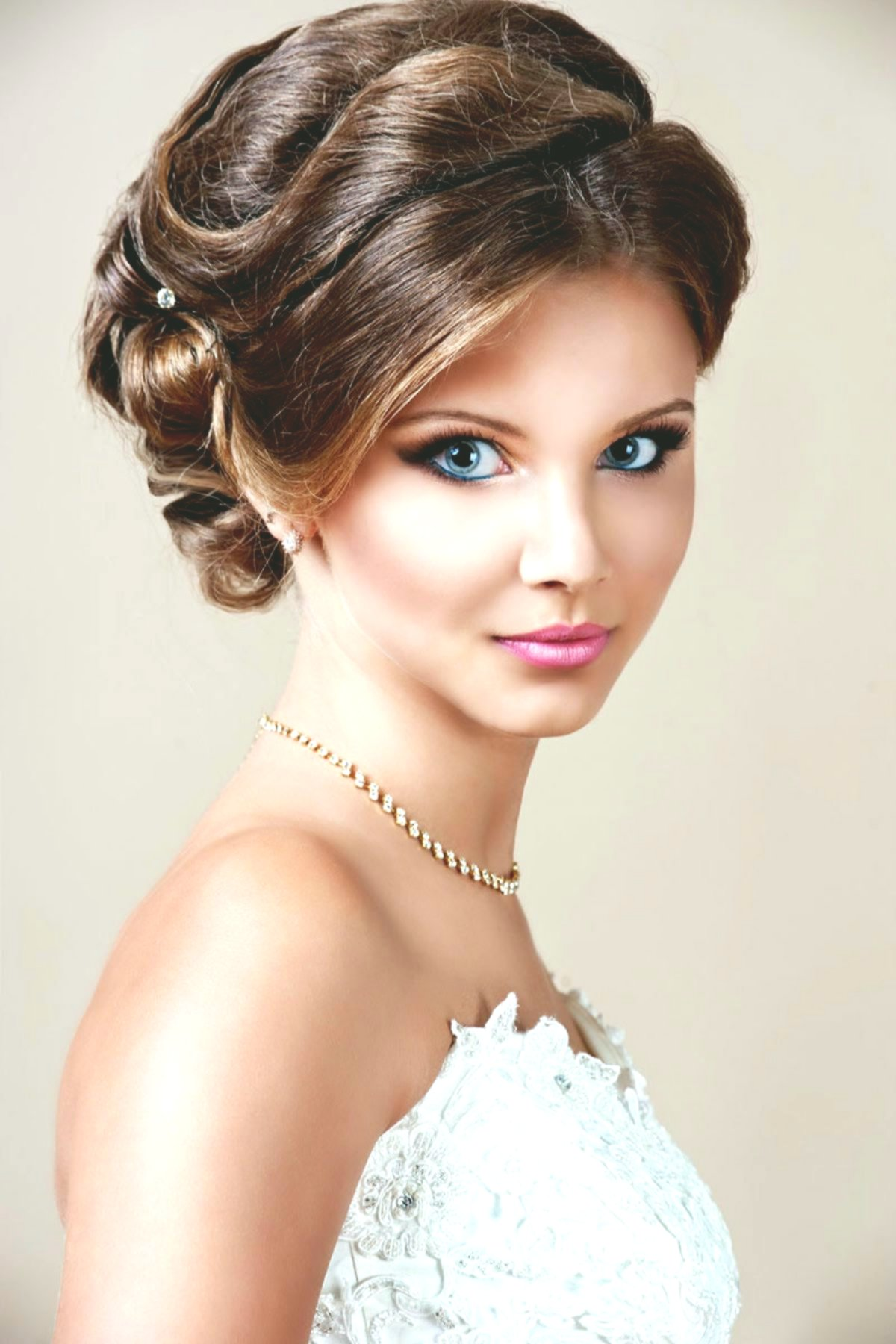 awesome updos with bangs photo picture-Cute updos with pony wall