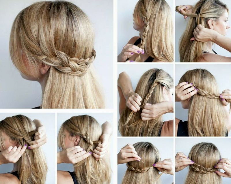 Stylish beautiful hairstyles for shoulder-length hair to make for yourself background-top Beautiful Hairstyles For Shoulder-length Hair to Do Self Reviews