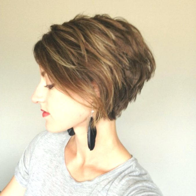 Nice bob hairstyles cut behind architecture-Excellent Bob Hairstyles Behind Cropped Inspiration