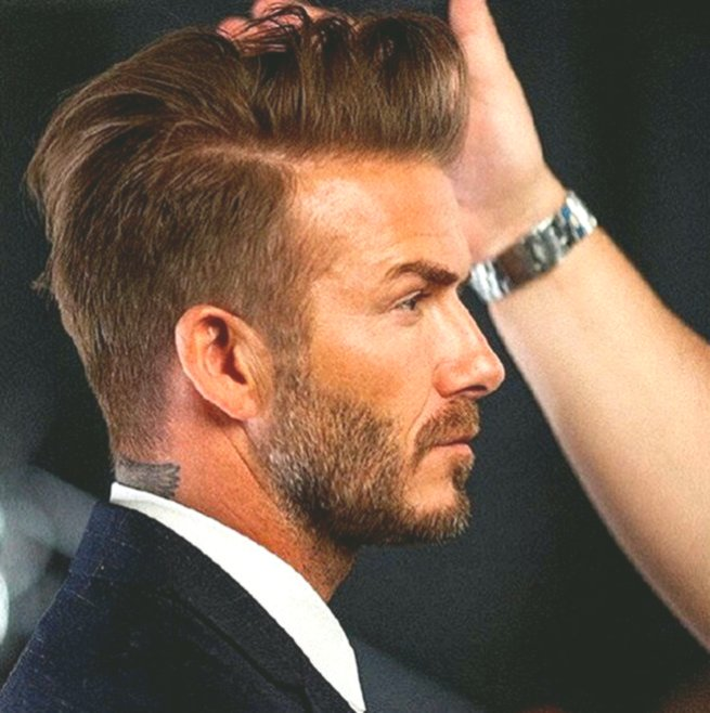 awesome beckham hairstyle portrait-Finest Beckham hairstyle model