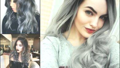 Photo of Magnifying Ombre Gray hair colors