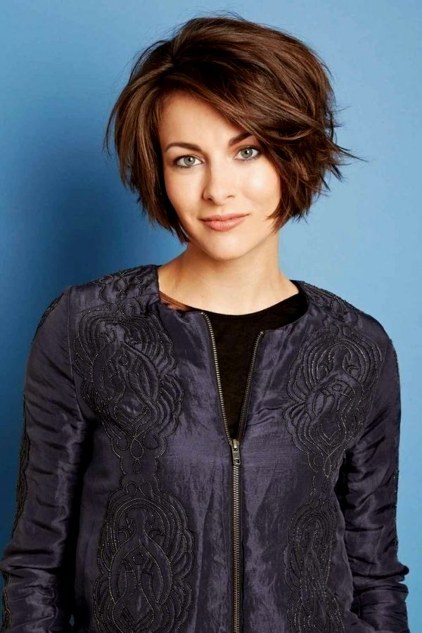 Fascinating Short Hairstyles Fringed Photo-Charming Short Hairstyles Fransig Models